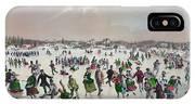 Ice Skating, C1859 IPhone Case