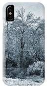 Ice Storm In The Flint Hills No 1 2724 IPhone Case