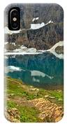 Iceberg Lake Glacier IPhone Case