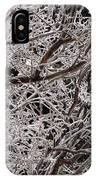 Iced Branches IPhone Case
