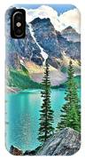 Iconic Banff National Park Attraction IPhone Case