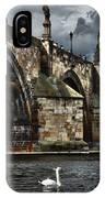 Iconic Bridge In Prague IPhone Case