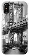Iconic Manhattan Bw IPhone X Case by Az Jackson