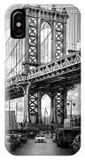 Iconic Manhattan Bw IPhone Case