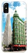 Icons Of San Fran IPhone Case