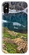 Icy Blue And Lush Green IPhone Case
