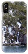 Icy Cliff In Winter IPhone Case