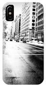 Icy Snow IPhone Case