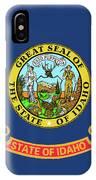 Idaho State Flag IPhone Case