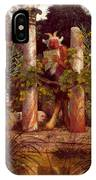 Idyll Pan Amidst Columns 1875 IPhone Case