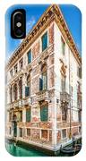 Idyllic Canal In Venice IPhone Case