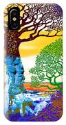 If A Tree Falls In Sicily Color 2 IPhone Case