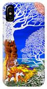 If A Tree Falls In Sicily White IPhone Case