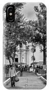 Iglesia La Merced - Antigua Guatemala Bnw Ix IPhone Case