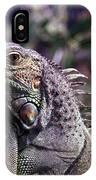 Iguana 338 IPhone Case