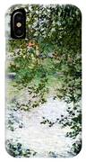 Ile De La Grande Jatte Through The Trees IPhone Case