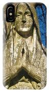 I'll Just Blend In - Hail Mary  IPhone Case