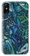 Illuminated Blue IPhone X Case