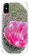 Illustrated Rose Vignette IPhone Case