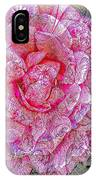 Illustration Rose Pink IPhone Case