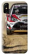 imagejunky_KB - RallyRACC WRC Spain - Esapekka Lappi / Janne Ferm IPhone Case