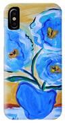 Imagine In Blue IPhone Case