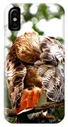 Img_1049-006 - Red-tailed Hawk IPhone Case