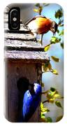 Img_1154 - Eastern Bluebird IPhone Case
