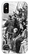 Immigrant Ship IPhone Case