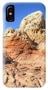 Impossible Rock Formations In The White Pocket IPhone Case