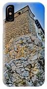 Impregnable Wall. Bran Castle - Dracula's Castle. IPhone Case