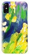Impression Flowers IPhone Case