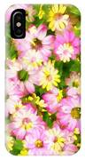 Impressionist Floral Ix IPhone Case