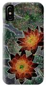 Impressionistic Lilies IPhone Case