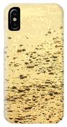 In A Golden Morning IPhone Case