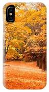 In Autumn IPhone Case