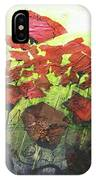 Fields Of Poppies IPhone Case