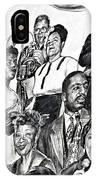 In Praise Of Jazz IIi IPhone Case