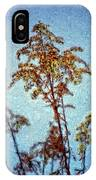 In Praise Of Weeds II IPhone Case