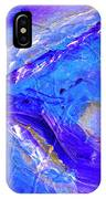 In The Blue Deep IPhone Case