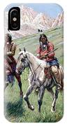 In The Cheyenne Country IPhone Case