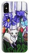 In The Chihuahua Garden Of Good And Evil IPhone Case