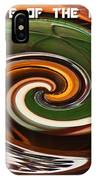 In The Eye Of The Hurricanes IPhone Case