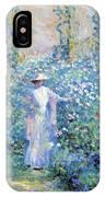 In The Flower Garden 1900 IPhone Case