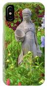 In The Flower Garden IPhone Case