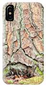 In The Forest Art Series - Tree Bark Patterns 1  IPhone Case