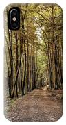 In The Forest Cathedral  IPhone Case