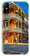 In The French Quarter - 2 Paint IPhone Case
