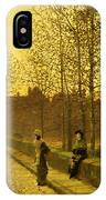 In The Golden Gloaming IPhone Case