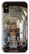 In The Gothic-baroque Church IPhone Case